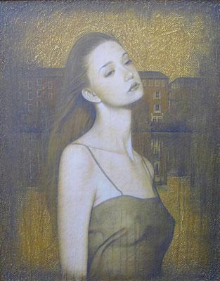 泉 Fountain Oil on canvas 1178x893mm 2010