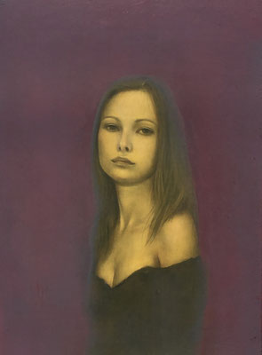 Irina Oil on canvas 333x242mm 2012