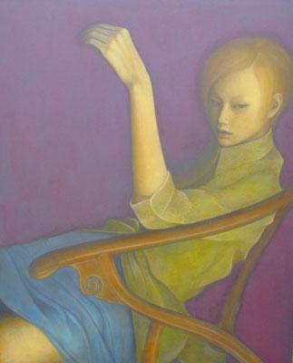 時のよどみ At the time of stagnation  Oil on canvas 914x731mm 2012