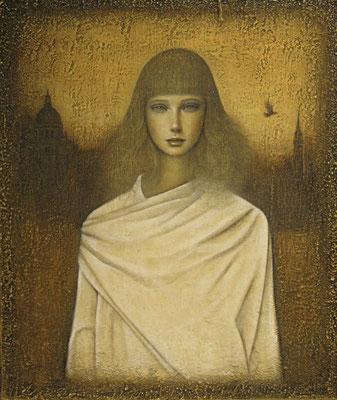 始まりの場所 The Beginning Place      Oil on canvas  914x731mm     2011