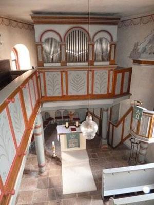 Innenraum - Altarraum