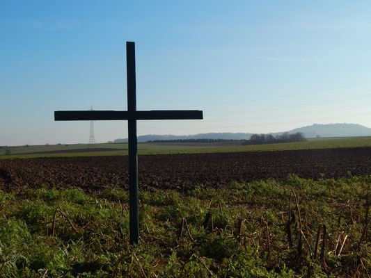 Heuchelei grüne Kreuze. Kein Aufstand gegen Flächenfraß aber Widerstand zu mehr Arbeit mit der Natur