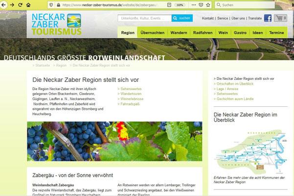 Homepage stellt vor: idyllisch gelegene Orte
