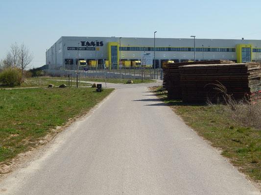 Ah, endlich wieder ein Logistikgebäude