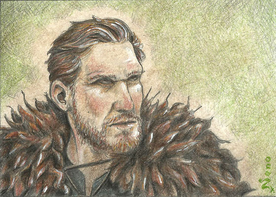 Viking ACEO - Sold