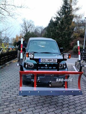 Straßenreinigung und Winterdienst