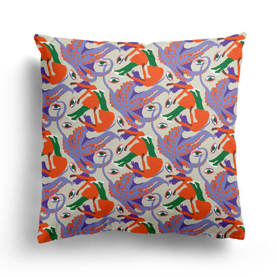 PILLOW »DREAMING OF THE SEA«