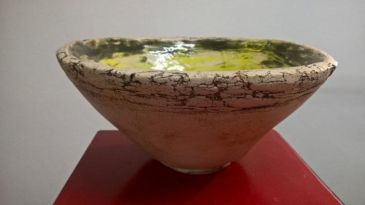 Schale, ca. 12cm hoch, Durchmesser ca. 26cm