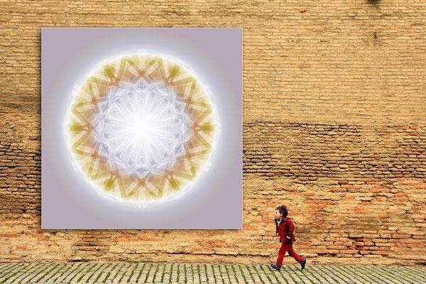 Lebendiger Kristall  für draußen © Susanne Barth. Freie Arbeit. Foto pixabay. Mehr Inspirationen www.aus-liebe-im-leben.de