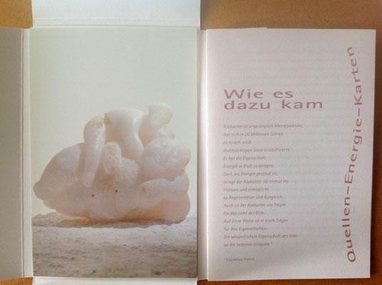 Packungsentwicklung für Postkarten, inkl. Booklet für  Eva-Gesine Wegner © Susanne Barth, The Creative Associates