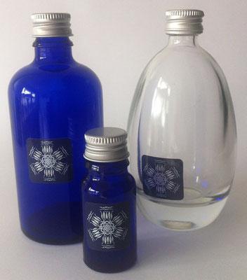 Glÿcklicht-Wasser. Produktausstattung © Susanne Barth, The Creative Associates