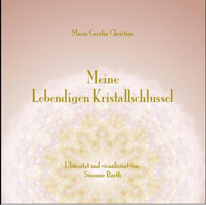 """Lebendiger Meister-Kristall, Cover eines persönlichen Booklets für """"Meine Direkte Verbindung"""" © Susanne Barth, www.susannebarth.com"""