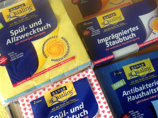 Marken - und Packungsgestaltung für Komplettsortiment der Handelsmarke flink & sauber, a&n&a GmbH, Merenberg. Susanne Barth, The Creative Associates