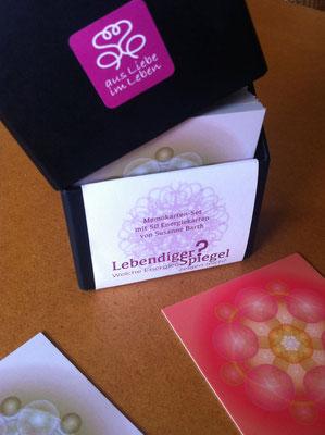 Lebendiger Spiegel - Produktidee, Namensentwicklung, Logo- und Packungsdesign © Susanne Barth www.aus-liebe-im-leben.de