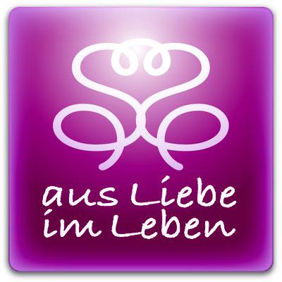 Corporate Design mit Namensentwicklung, Logogestaltung, Geschaftsausstattung, Produktgestaltung, Webdesign für Susanne Barth, www.aus-liebe-im-leben.de