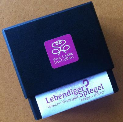 Lebendiger Spiegel - Memo-Karten-Set mit 50 Karten mit Lebendigen Mandala und Kristallbildern © Susanne Barth www.aus-liebe-im-leben.de