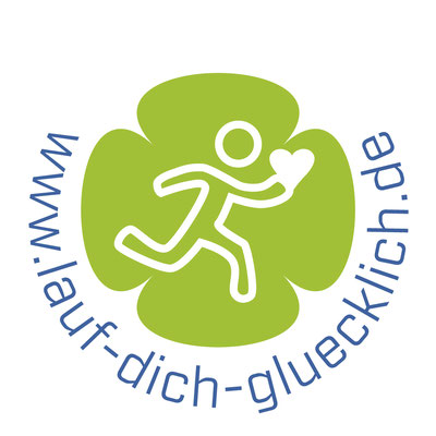 """Piktogramm für """"Lauf dich glücklich"""", Tina Mackh, Neusäss © Susanne Barth, The Creative Associates"""
