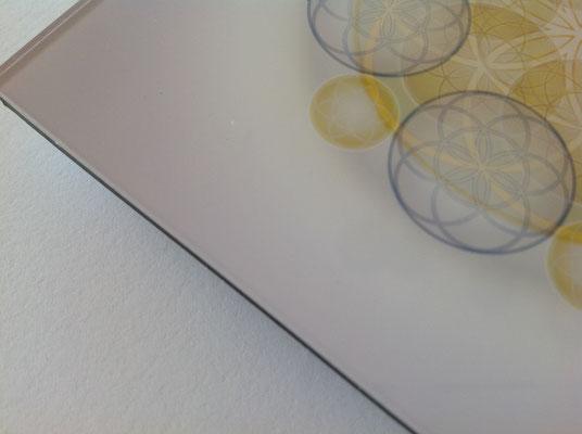 """Lebendiges Mandala aus der  """"5 Elements-Line"""" , print on demand in Galeriequalität © Susanne Barth"""