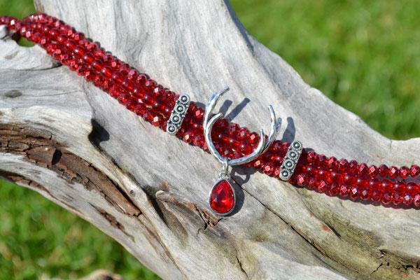 Kropfkette Rot