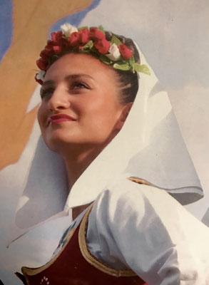Europameisterschaft - Serbische Folklore