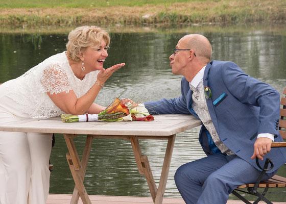 Luftkuss Hochzeit