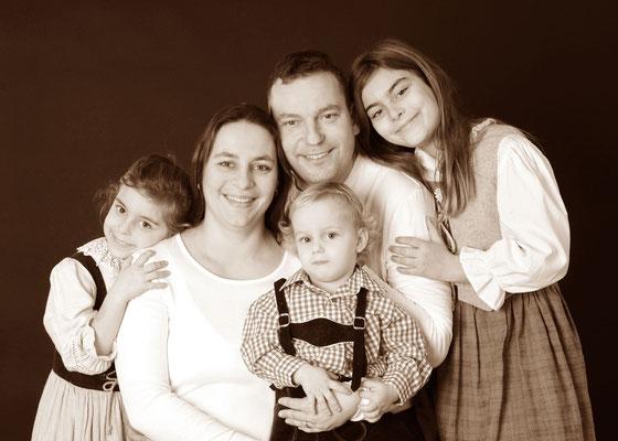 klassisches Familienportrait in Teltow