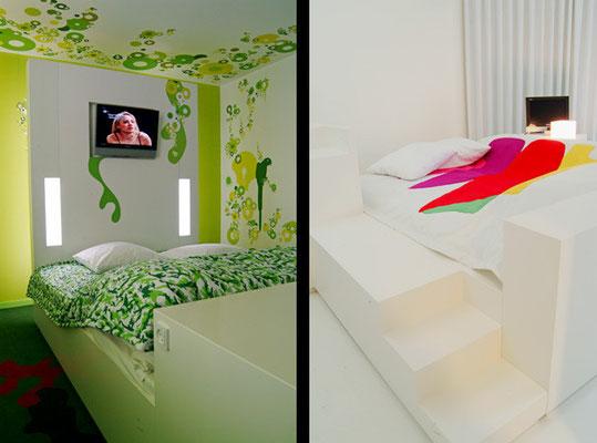 Möbelbau, Fox Design Hotel