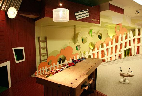 KindergarteneinrichtungHUBERTUS WALD KINDERREICH, Raumgestaltung Museum für Kunst und Gewerbe