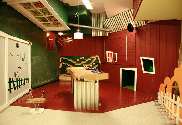 HUBERTUS WALD KINDERREICH, Raumgestaltung Museum für Kunst und Gewerbe