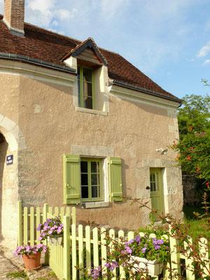 La façade sud du Gîte La Ruelle des Jardins