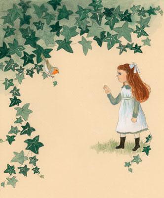 『秘密の花園』バーネット著