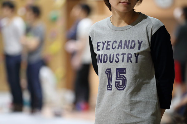 eyecandy BASEBALL Tシャツ