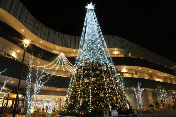 コクーンシティ さいたま新都心 クリスマスイルミネーションプログラム演出および施工工事