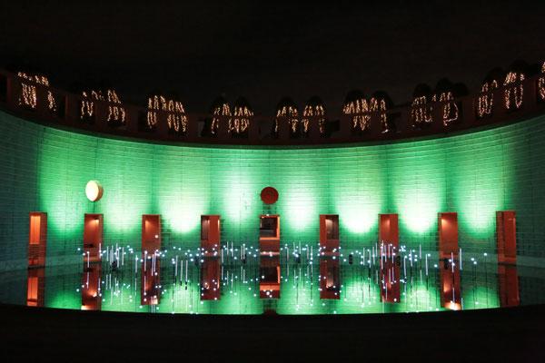横浜ビジネスパーク クリスマスイルミネーション施工工事