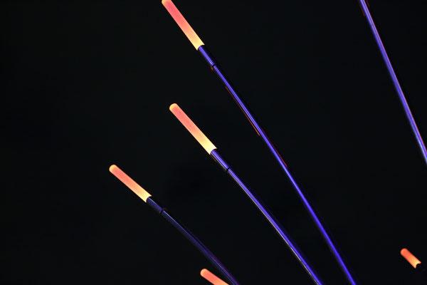二子玉川RISE/ ツリーライトオブジェ、ミストシステム付き
