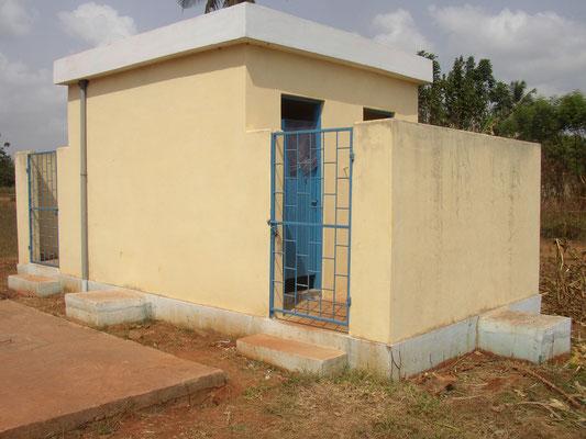 Toilettengebäude