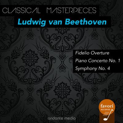 Classical Masterpieces - Ludwig van Beethoven: Piano Concerto No. 1 & Symphony No. 4