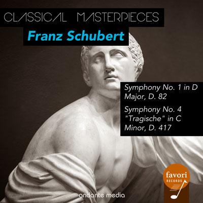Classical Masterpieces - Franz Schubert Symphonies Nos. 1 & 4