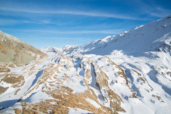 Neve sulla Greina