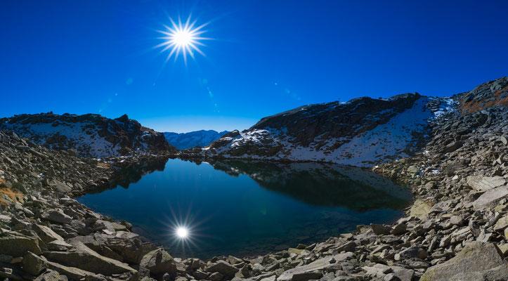 Panoramica del Lago Poma