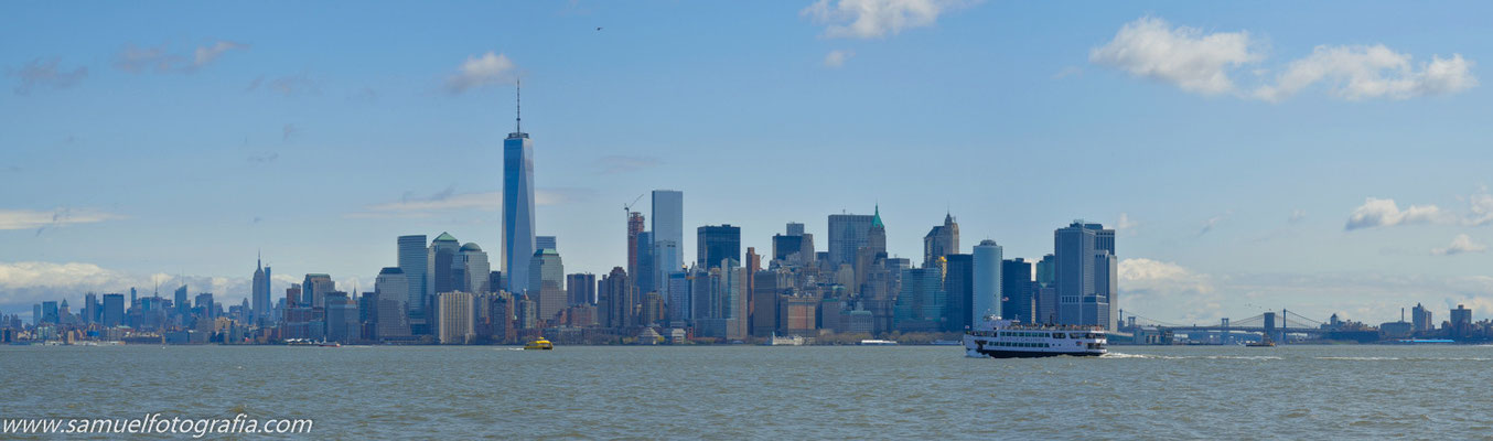 Panoramica di Manhattan