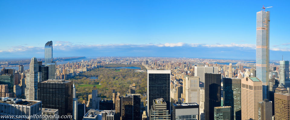Panoramica con Central Park