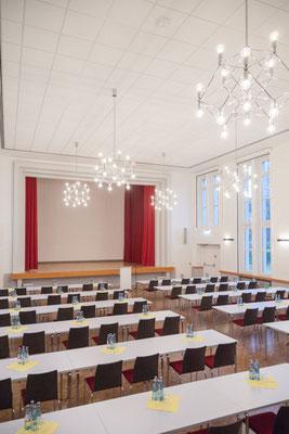 Der Kapitelsaal mit Platz für bis zu 170 Personen