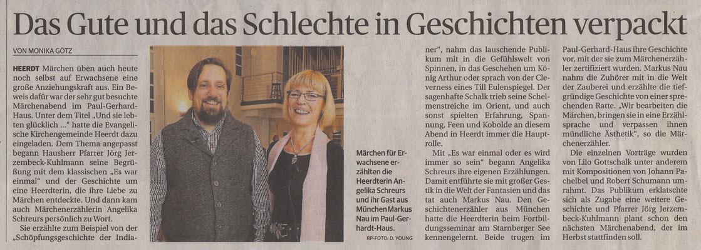 Rheinische Post vom 20.02.2016