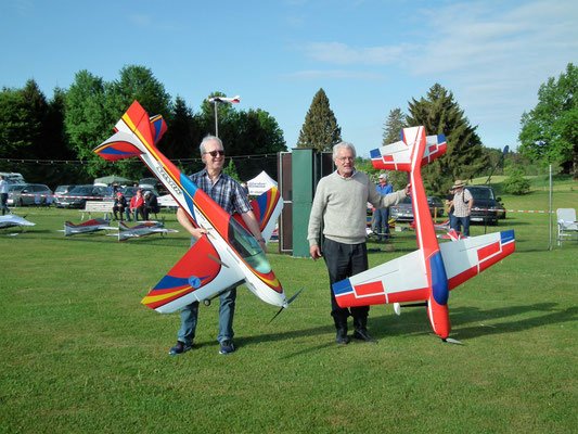 Die Piloten der Klasse F3A-C (Hobbyklasse)