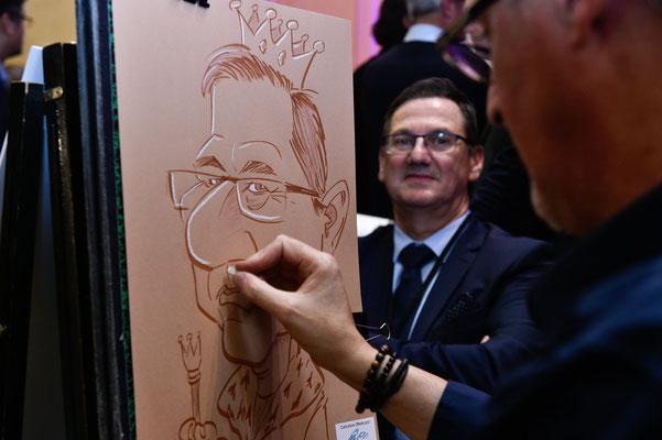 Caricaturiste Biarritz