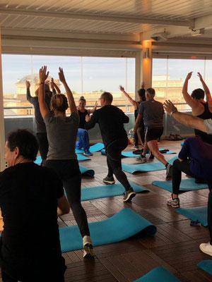 Matin bien-être, yoga