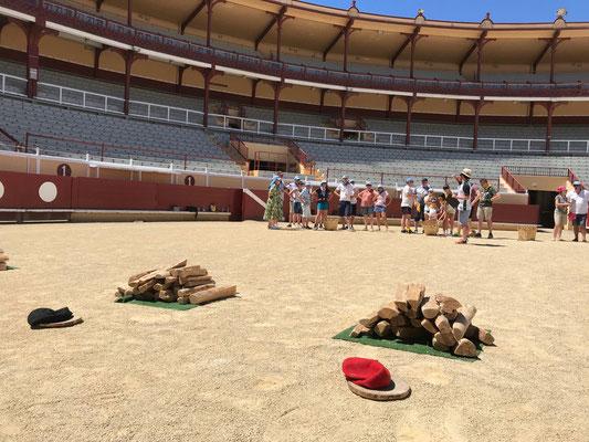 Arènes de Bayonne - Jeux basques