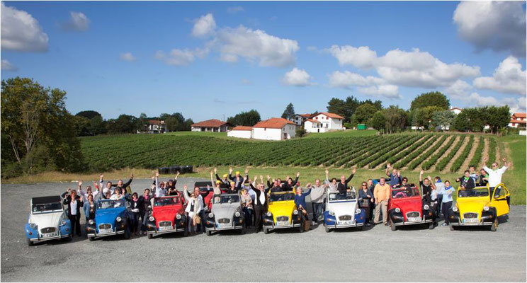 Rallye 2CV Pays Basque