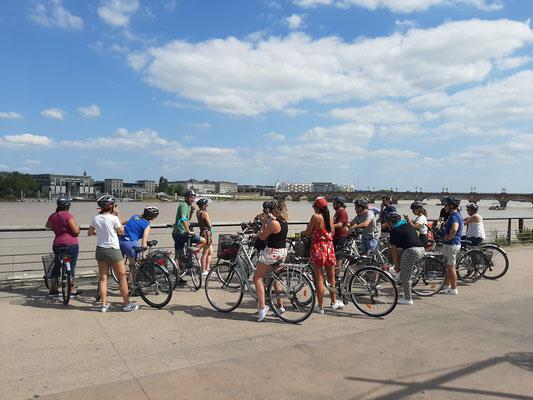 Balade à vélo Bordeaux